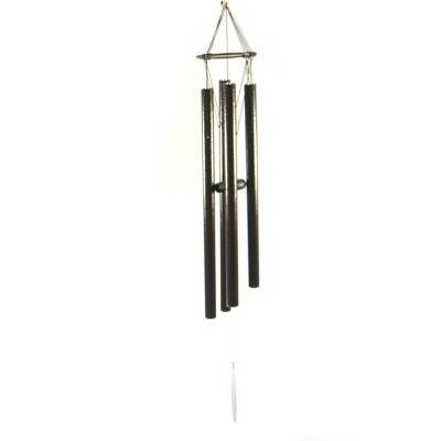 """Home & Garden 38.5"""" Wind Chime With Four Tubes Yard Decor Music Direct Designs International  -  Bells And Wind Chimes"""