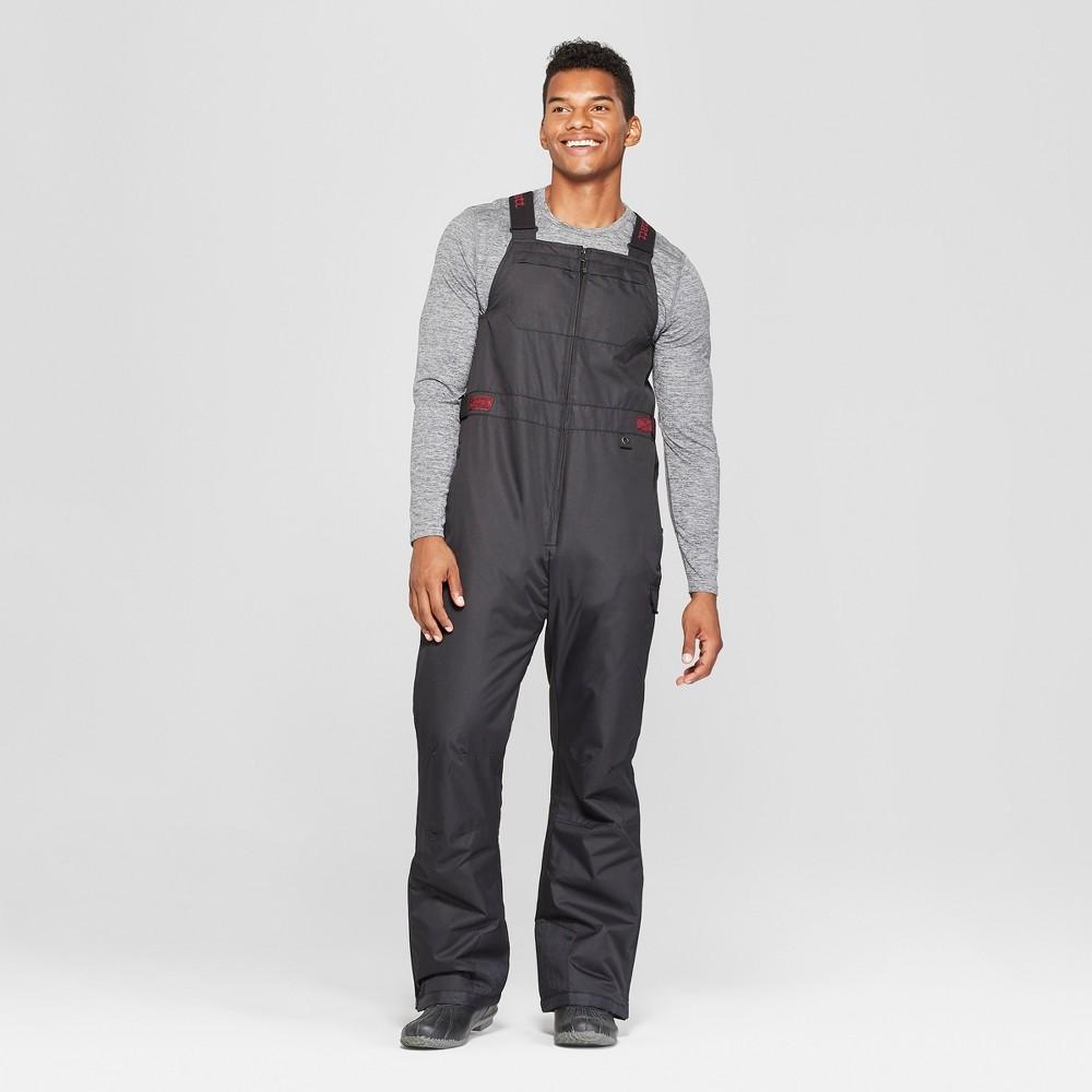 Men's Premium Bib Snow Pants - Zermatt Black L