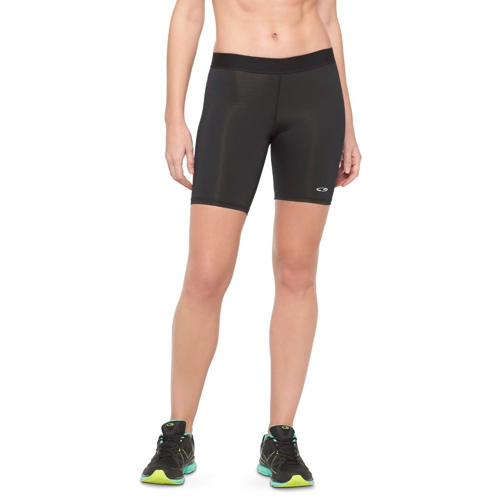 Women's Training Mid-Rise Shorts 7 - C9 Champion Black XS