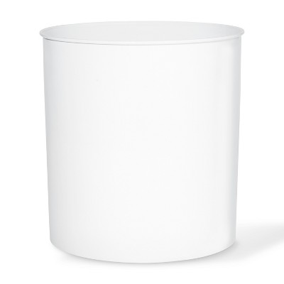Solid Bathroom Wastebasket Can White - Threshold™