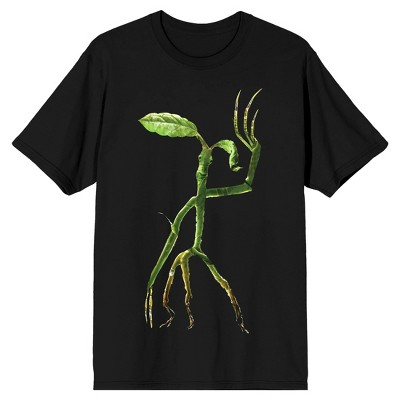 Fantastic Beasts 2 Plant With Figure Men's Black Graphic Tee