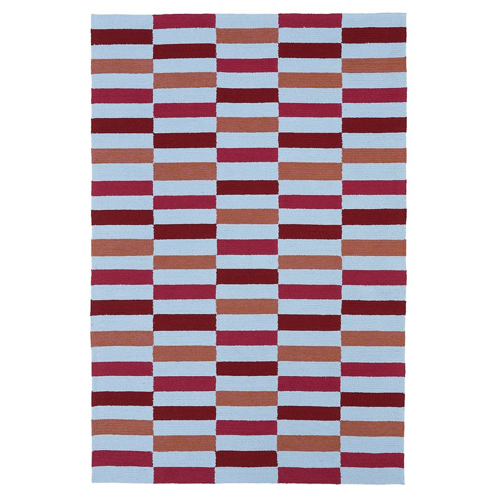 Rugs 5'X7'6 Kaleen Rugs Berry Red