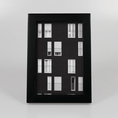 4  x 6  Thin Single Picture Frame Black - Made By Design™