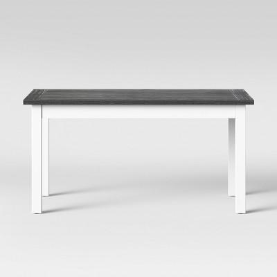 60  Hartland Farm Table Gray/White - Threshold™