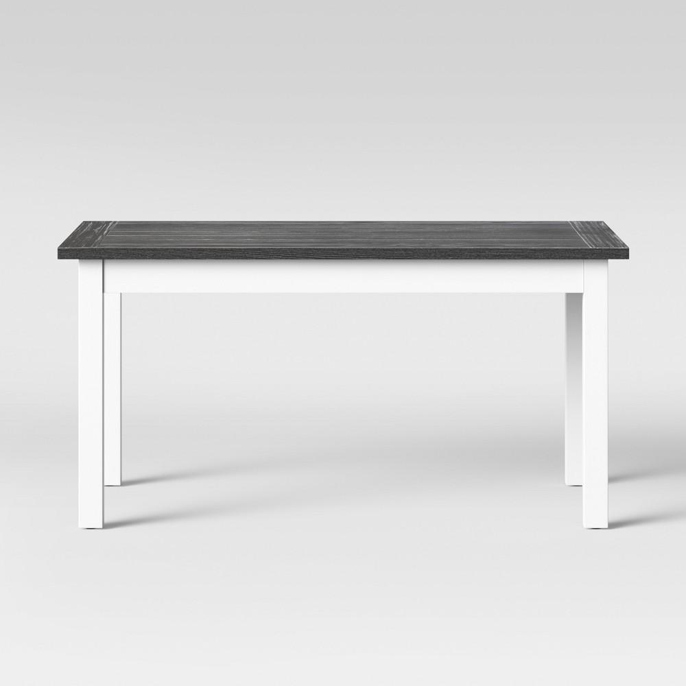 60 Hartland Farm Table Gray/White - Threshold