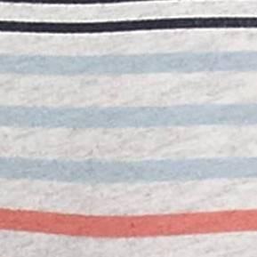 Red & Blue Heather Stripe