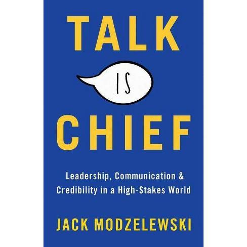 Talk Is Chief - by  Jack Modzelewski (Hardcover) - image 1 of 1