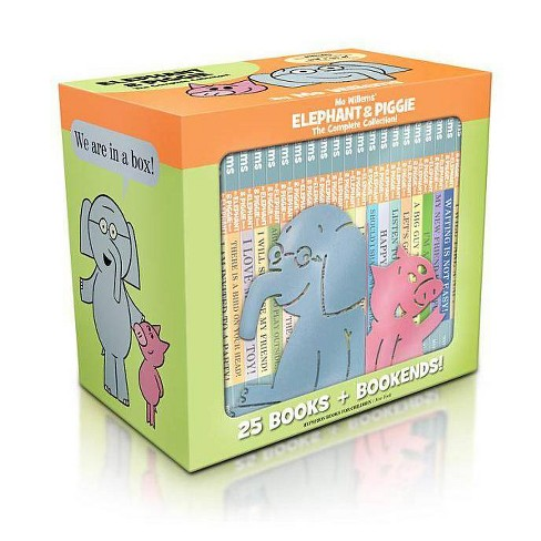 Elephant & Piggie: The Complete Collection (an Elephant & Piggie Book) - (Elephant and Piggie Book) by  Mo Willems (Mixed Media Product) - image 1 of 1