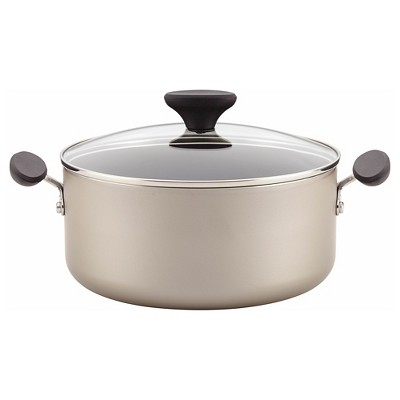 Farberware Reliance Aluminum Nonstick 5 Quart Covered Dutch Oven - Champagne