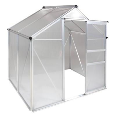 6'X 4' Walk-In Aluminum Greenhouse Clear - OGrow
