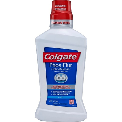 Colgate Phos-Flur Ortho Protect Mint Rinse 16oz - image 1 of 2