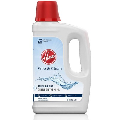 Carpet Cleaner & Deodorizer: Hoover Free & Clean