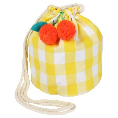 Meri Meri - Cherry Gingham Bag - Handbags - 1ct
