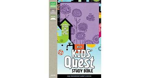 Kids' Quest Study Bible : New International Reader's Version, Lavender, Italian Duo-Tone: Answers to - image 1 of 1