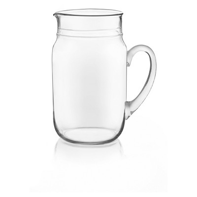 Libbey Glass Country Folk Pitcher - Large