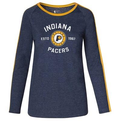 NBA Indiana Pacers Women's Team Shoulder Stripe Sweatshirt