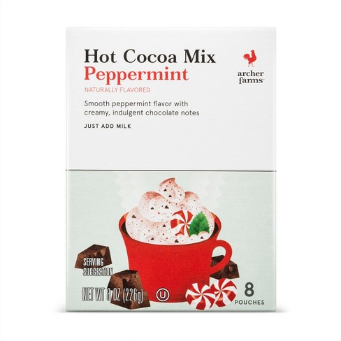 Mint Chocolate Hot Cocoa Mix - 8ct - Archer Farms™ - image 1 of 1