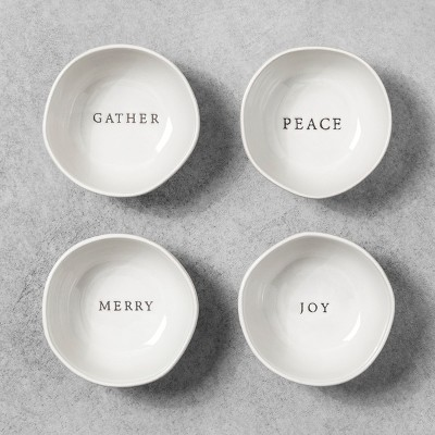 Mini Bowl Set of 4 - White - Hearth & Hand™ with Magnolia
