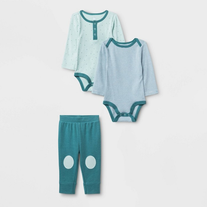Baby Boys' 2pk Boutique Layette Set - Cloud Island™ Blue - image 1 of 1
