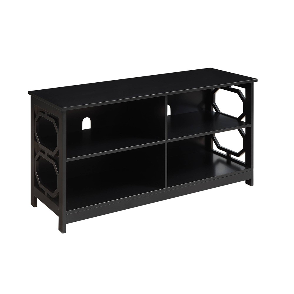 Omega TV Stand Black - Johar Furniture Omega TV Stand Black - Johar Furniture