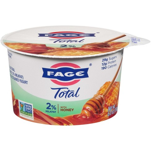 Fage Low-Fat Greek Yogurt with Honey 5.3oz - image 1 of 1