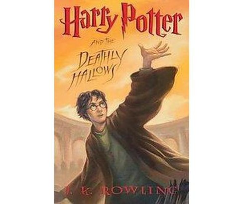 Harry Potter and the Deathly Hallows ( Harry Potter) (Hardcover) by J. K. Rowling - image 1 of 1