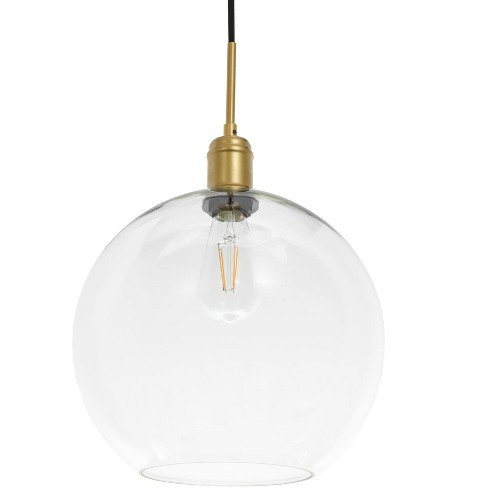 "Elegant Lighting LD6209 Emett Single Light 13"" Wide Pendant - image 1 of 3"