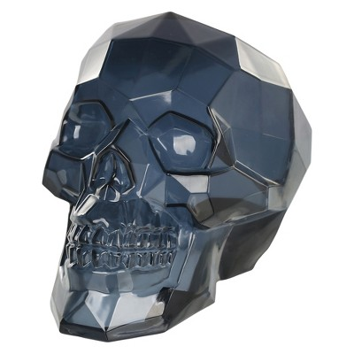 Large Halloween Crystal Skull Gray - Hyde and Eek! Boutique™