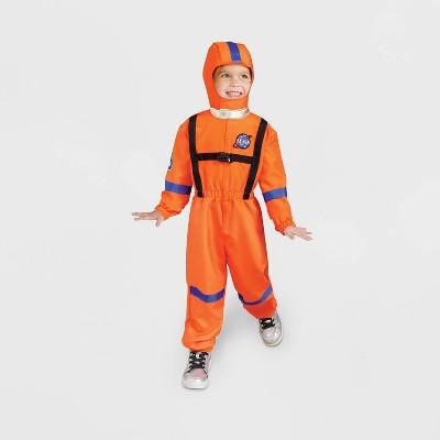 Kids' Astronaut Halloween Costume Orange - Hyde & EEK! Boutique™