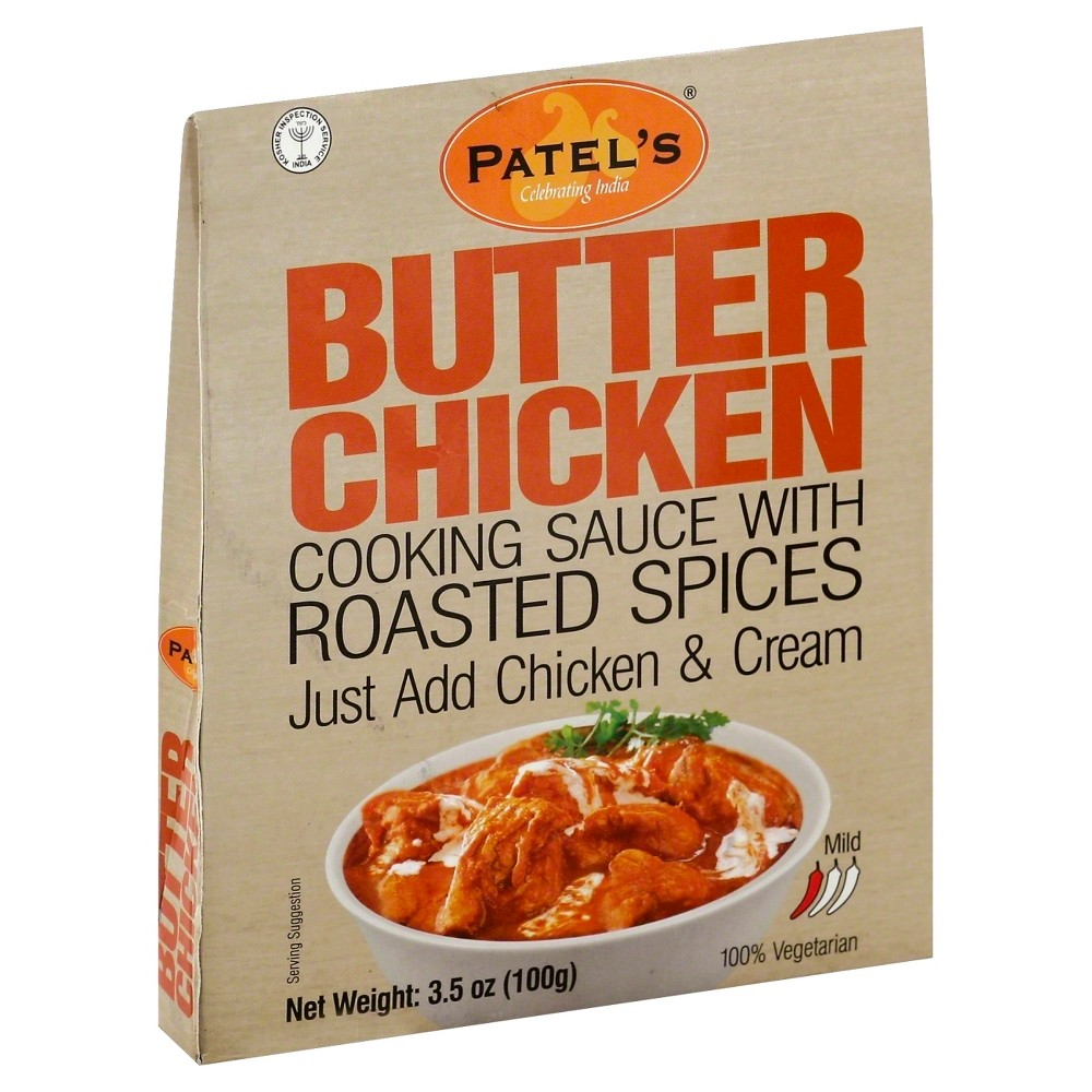 Patel Butter Chicken Spice Blend 3 5oz