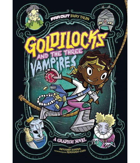 Goldilocks and the Three Vampires (Paperback) (Laurie S. Sutton) - image 1 of 1