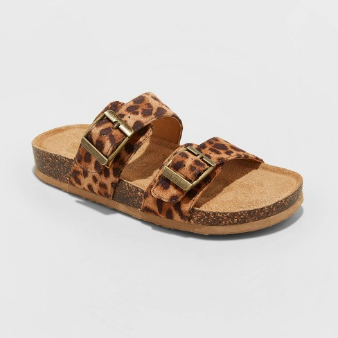 Girls' Mad Love Scarlett Footbed Sandals - image 1 of 3