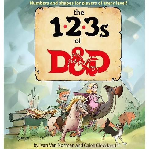 123s of D&d (Dungeons & Dragons Children's Book) - by  Ivan Van Norman (Hardcover) - image 1 of 1