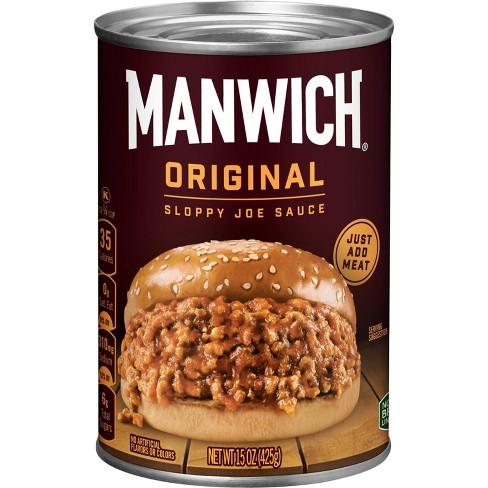 Manwich Orginal Sloppy Joe Sauce - 15.5oz - image 1 of 3