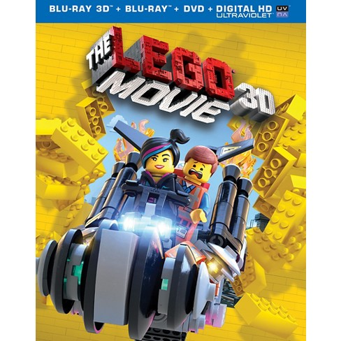 The Lego Movie Includes Digital Copy Ultraviolet 3d Blu Ray
