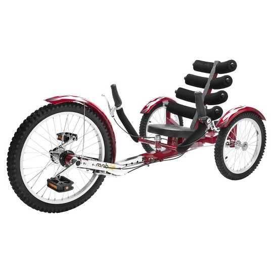 "Mobo Adult Shift 20"" Three Wheeled Cruiser - Maroon, Adult Unisex, Red image number null"