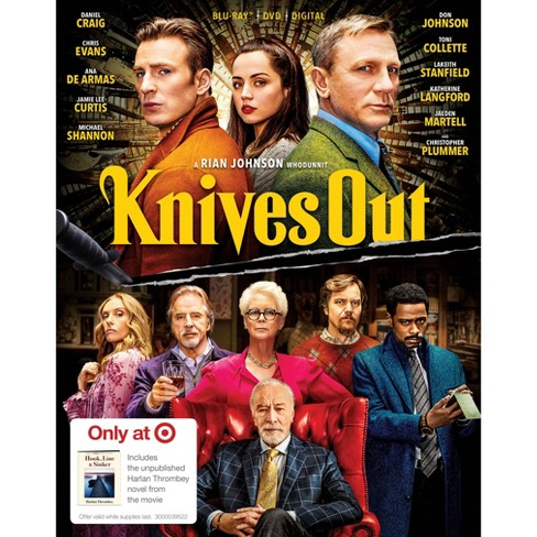 Knives Out (Target Exclusive) (Blu-Ray + DVD + Digital) - image 1 of 2