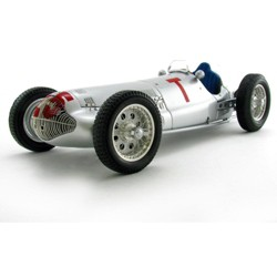 1938 Mercedes W154 T Car Richard Seaman GP France 1/18 Diecast Model Car by CMC
