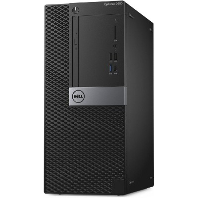 Dell 7050-T Certified Pre-Owned PC, Core i7-6700 3.4GHz, 16GB Ram, 512GB SSD, DVDRW, Win10 Pro (64-bit) Manufacturer Refurbished