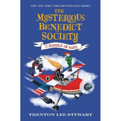 The Mysterious Benedict Society and the Riddle of Ages - by  Trenton Lee Stewart (Paperback)