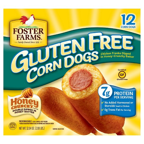 Foster Farms Gluten Free Corn Dogs -32oz - image 1 of 1