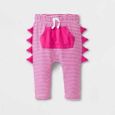 Baby Girls' Leggings with Kangaroo Pocket - Cat & Jack™ Pink 3-6M