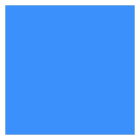 SunWorks Heavyweight Construction Paper, 12 x 18 Inches, Blue, pk of 100 - image 1 of 1