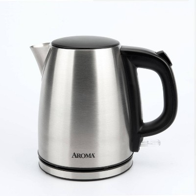 Aroma 1L Electric Water Kettle - Stainless Steel