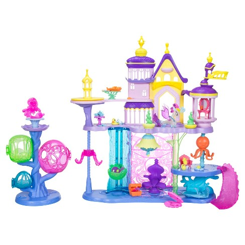 My Little Pony: The Movie Canterlot & Seaquestria Castle with Light-Up Tower - image 1 of 9