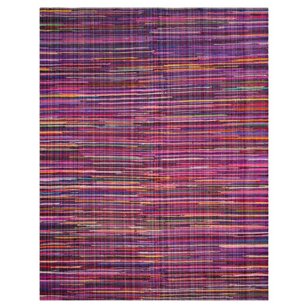 Pewter Purple Spacedye Design Woven Area Rug 8'x10' - Safavieh