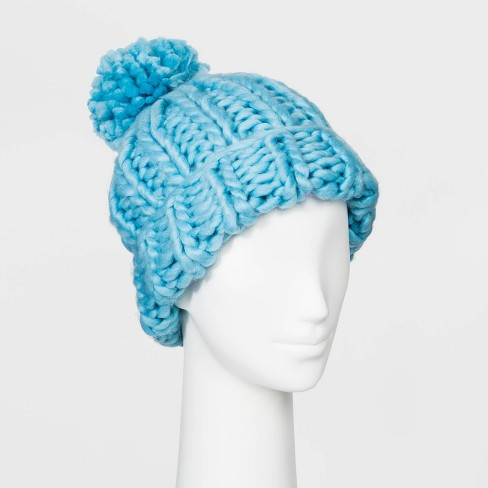 Women's Oversized Chunky Knit Beanie - Wild Fable™ - image 1 of 1