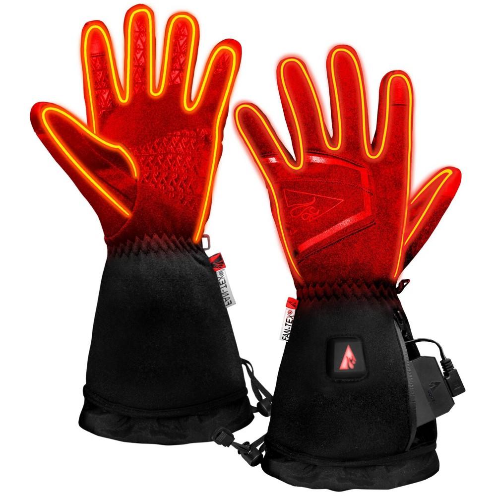 Image of ActionHeat 5V Battery Heated Softshell Men's Glove - Black L, Men's, Size: Large