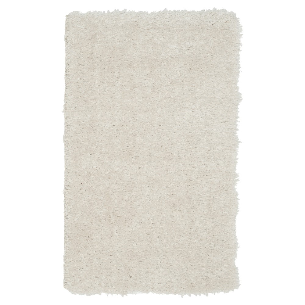 Pearl (White) Solid Tufted Accent Rug - (2'3