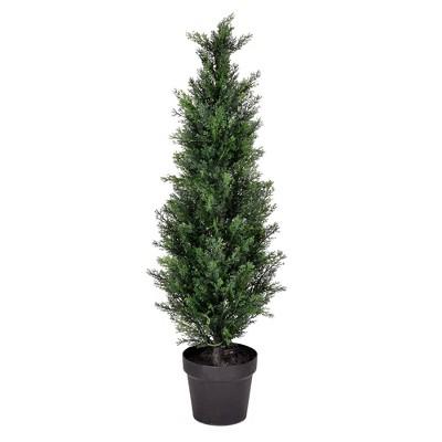 Artificial Potted Cedar Tree (UV) (3') - Vickerman